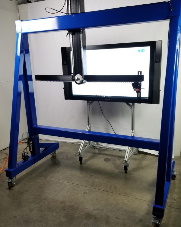 xl pt3 interactive display tester horizontal swipe